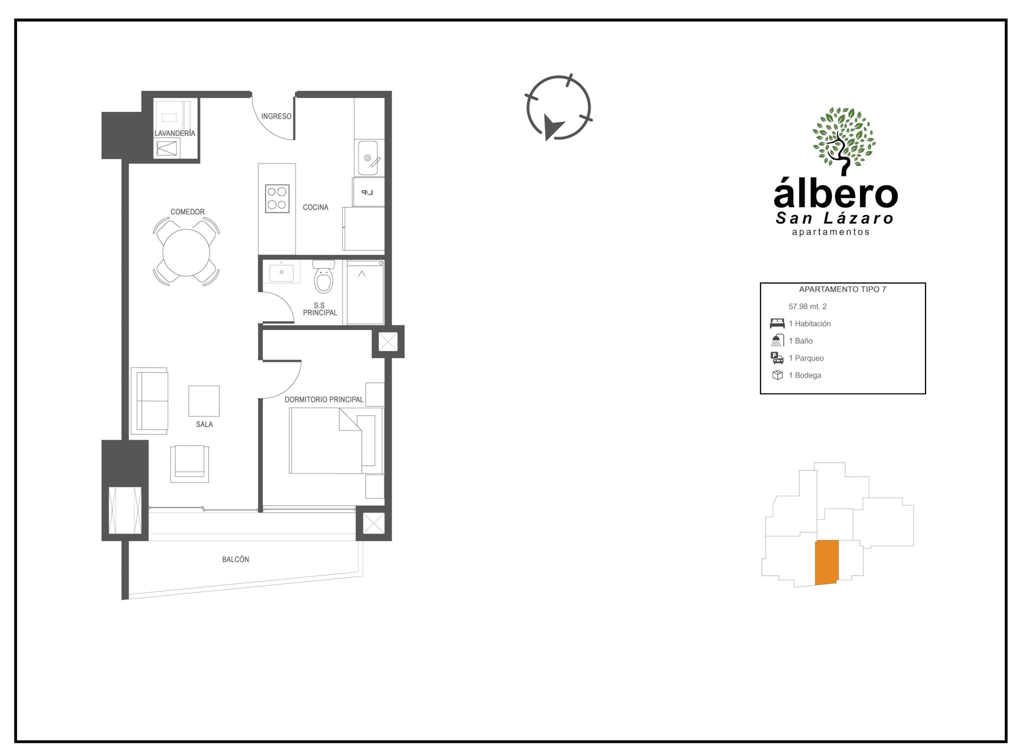 apartamento tipo 7